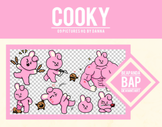 Pack Png 1130 // COOKY (BT21) by BEAPANDA