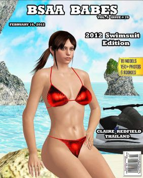 CLAIRE REDFIELD    BSAA COVER-GIRL by blw7920