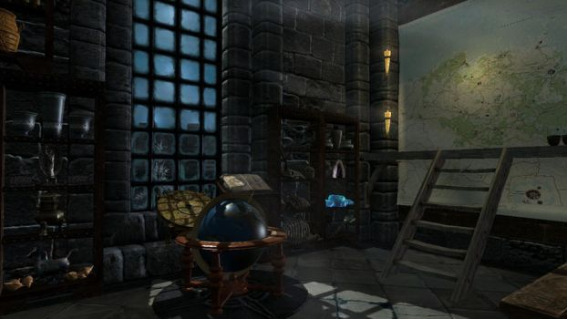 Arcaneum Foyer - Immersive College of Winterhold by MikaLero