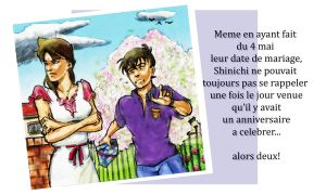 Shinichi Bday 2011 - Forgetful by DagronRat