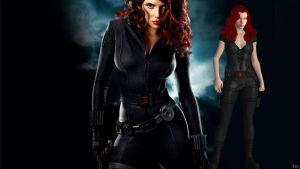 Black Widow: Scarlett Johansson for XPS by Aequitas-Imperator