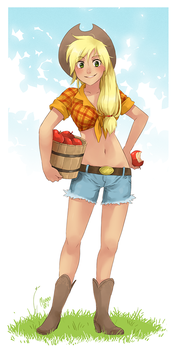 Applejack by meago