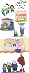 Undertale AU - SketchDump by TC-96