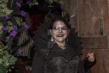 Halloween night 2 smiling by CreativeChaotica