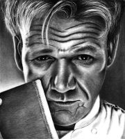 Chef Gordon Ramsay by HarryMichael
