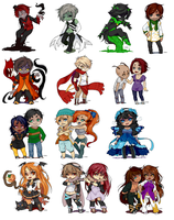 pixel commission compilation by Apomix