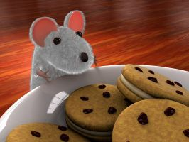 Cookie thief by zbyg