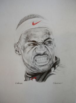 Lebron James by IAmPencilFingerz