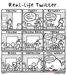 Real life Twitter by icanseeyourmonkey