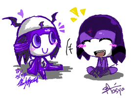 ISCRIBBLE FUUUN by aruruXchan