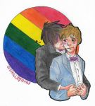 DV: Pride Month - First Gay Marriage by varulf