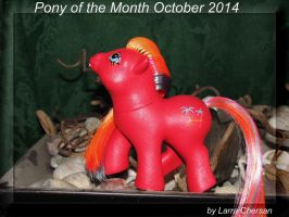 Pony of the Month October 2014 by LarraChersan