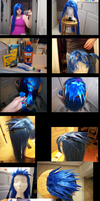 Making the Saix wig by CheshireMax