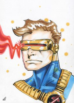 Cyclops Portrait by ADMDArt