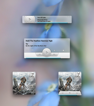 Media Player Mockup by AlexandrePh