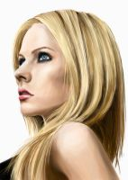 Avril Lavigne by BlackRoseXOX