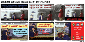 Baton Rouge Incident Simplified 2016 by gaudog