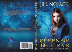 Queen Of The Fae  - print cover by LHarper