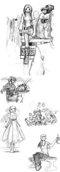 TG Stories -The Mall- by DPRagan