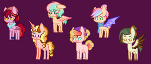 Mlp Auction! .:CLOSED:. by Galaxystar106