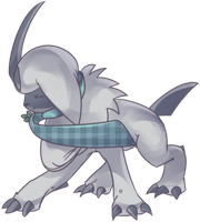Custom Absol Commission