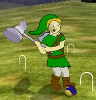 Croquet in Hyrule by The-Author-M