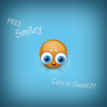 Free Cute Smiley iCon by graphcoder
