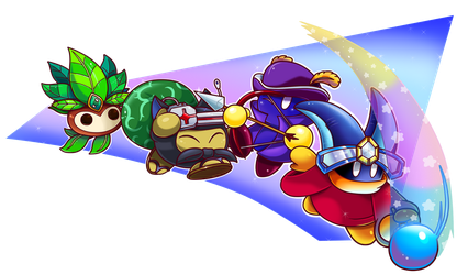 Commish: Copy Crew by Nintendrawer