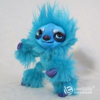 Blue Mini Sloth by LimitlessEndeavours
