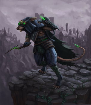 Skaven Storm Runner by Uriak