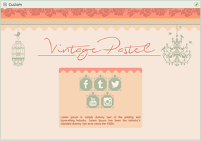 Vintage Pastel | simple custom graphic by BluAjisai