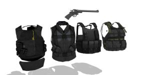 MMD Vest Pack 2 by MMDFuph