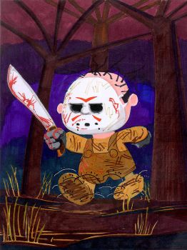 Pigpen as Jason Vorhees by theCreativeRoy