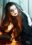 The Black Witch by MADmoiselleMeli