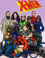 1980s Jaguar and the X-Men by ProdigyDuck