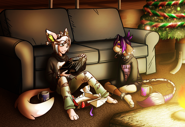 ::StM - Secret santa - Goths together:: by coyotepack