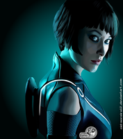 Quorra - TRON Legacy by Cid-Moreira12