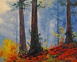 Forest Fall by artsaus