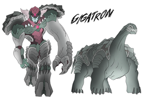Gigatron- Beast Wars Future by NickOnPlanetRipple