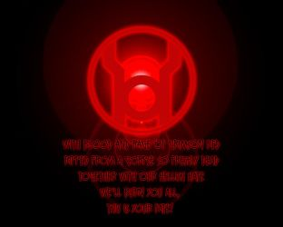 Red Lantern Real oath by Gray-Vizard
