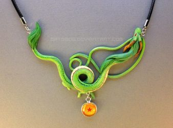 Dragon Necklace - Shenron by Gatobob