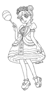 Midnight - LOL Surprise Doll - Coloring Page by hinoraito