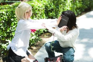 Deathnote - Wake up, L by chuwei
