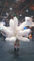 Cosplay Props: Ahri's tails by TENinania