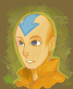 Aang is love by Pikafaa