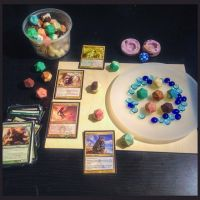 Magic the Gathering D20's by melell
