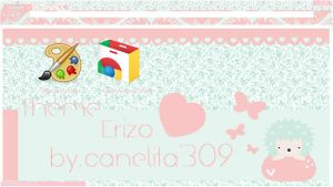 Theme Google Chrome -  Erizo by SriitaDeWatt