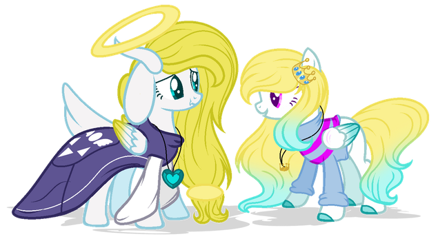 .:GIFT:. [[Hello my child]] by MLPCrystalHarmony