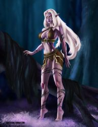 Comission: Night Elf by SamSusami