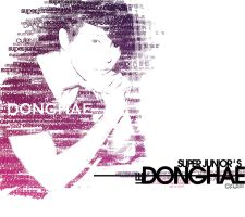 Donghae-typography by 7even-is-jet